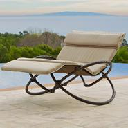 RST Outdoor Delano Double Orbital Lounger with Cushion Set at Kmart.com