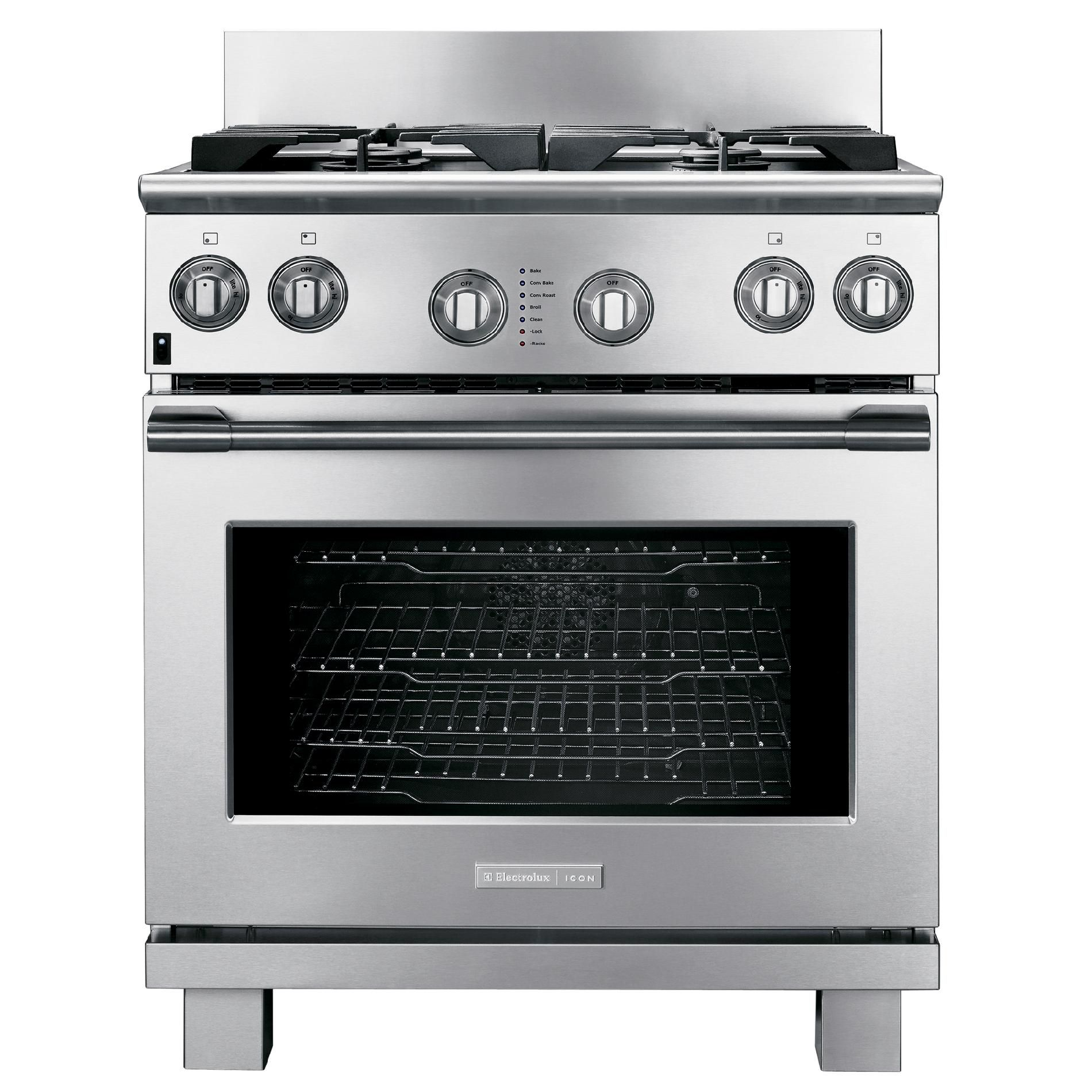 Why Dual Fuel Range Electrolux E30df74gps 30 Dual Fuel Range Stainless Steel