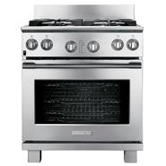 "Electrolux 30"" Freestanding Dual-Fuel Range - Stainless Steel at Sears.com"