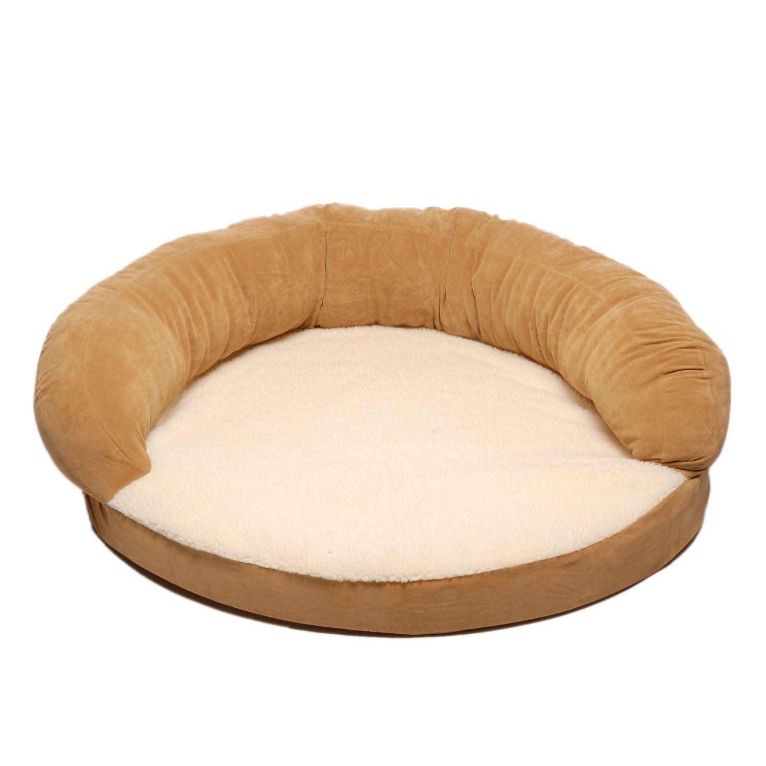 Carolina Pet Medium Ortho Sleeper Bolster Bed - Carmel