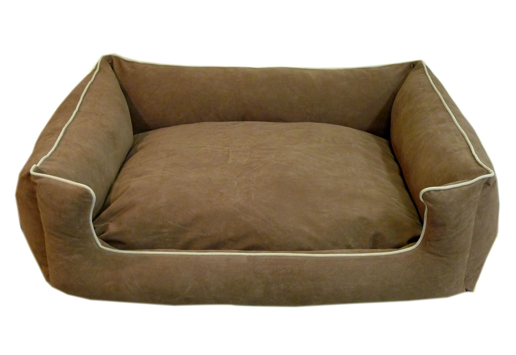 Carolina Pet X-Small Low Profile Kuddle Lounge - Chocolate