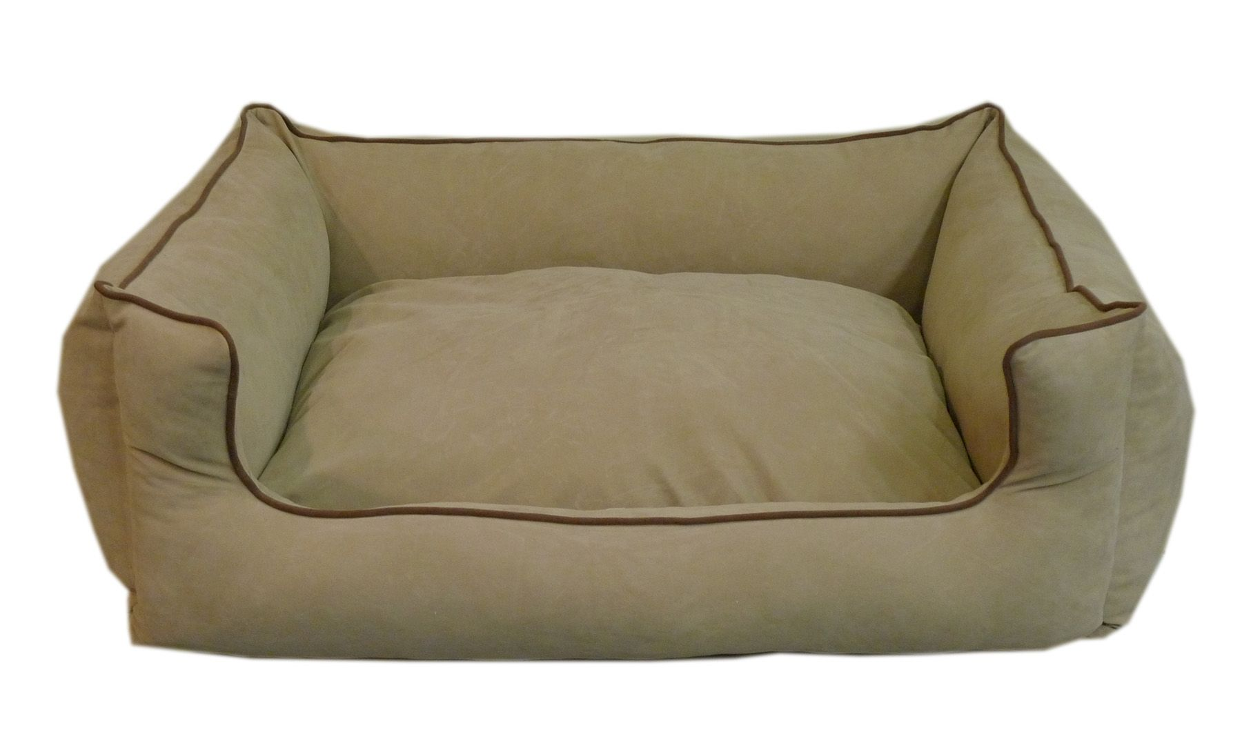 Carolina Pet Small Low Profile Kuddle Lounge - Linen