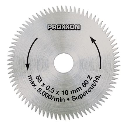 Proxxon  Crosscut blade ''super-cut'',