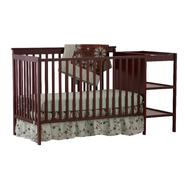 Stork Craft Milan 2 in 1 Fixed Side Convertible Crib Changer - Cherry at Sears.com