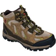 Rugged Shark® Men's Approach Waterproof Light Mid Hiker Boot Brown at Kmart.com