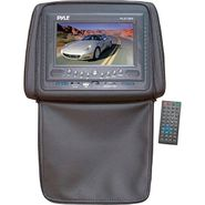 Pyle Adjustable Headrests 7'' TFT/LCD Monitor With Built In DVD Player & IR/FM Transmitter With Cover-Black at Kmart.com