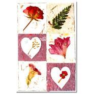 "Kathie McCurdy 'Botanical Quilt' 16"" x 24"""