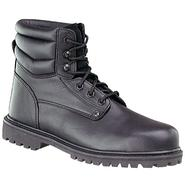 Roebucks Men's 6in. Steel Toe Boot - Black at Kmart.com