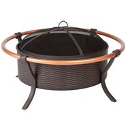 Fire Sense Copper Rail Fire Pit at Kmart.com