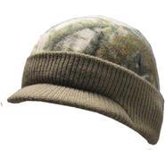 Quiet Wear Knit & Fleece Visor Cap