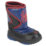 Spider-Man Boy's Spiderman Winter Boot - Black at Kmart.com