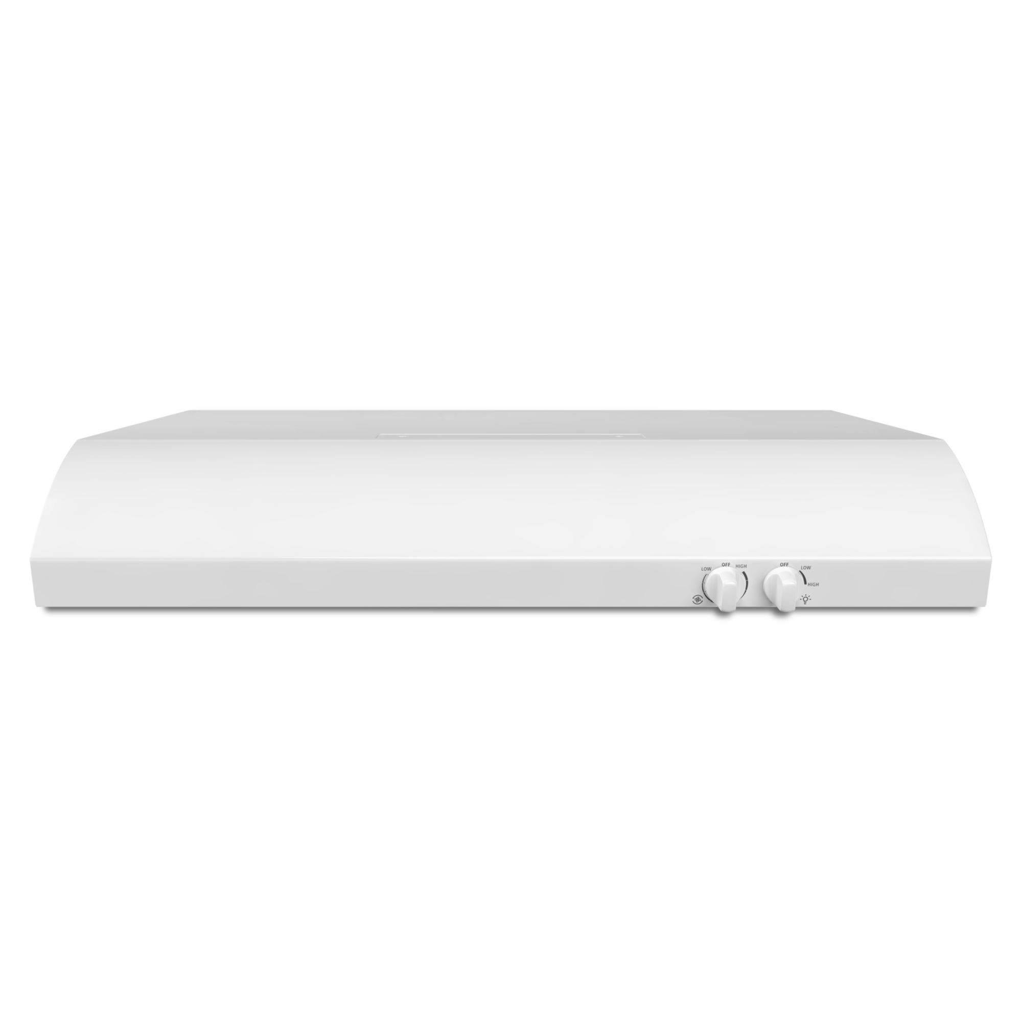 Whirlpool 36 Convertible Under-Cabinet Range Hood - White