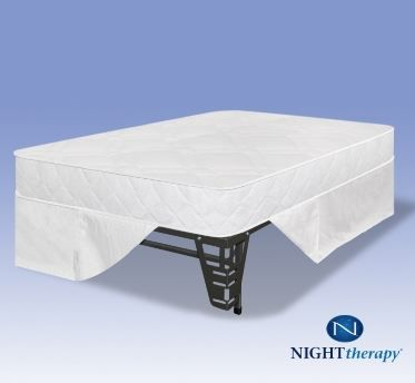 Night Therapy 6 Inch Youth Spring Mattress Complete Set Full