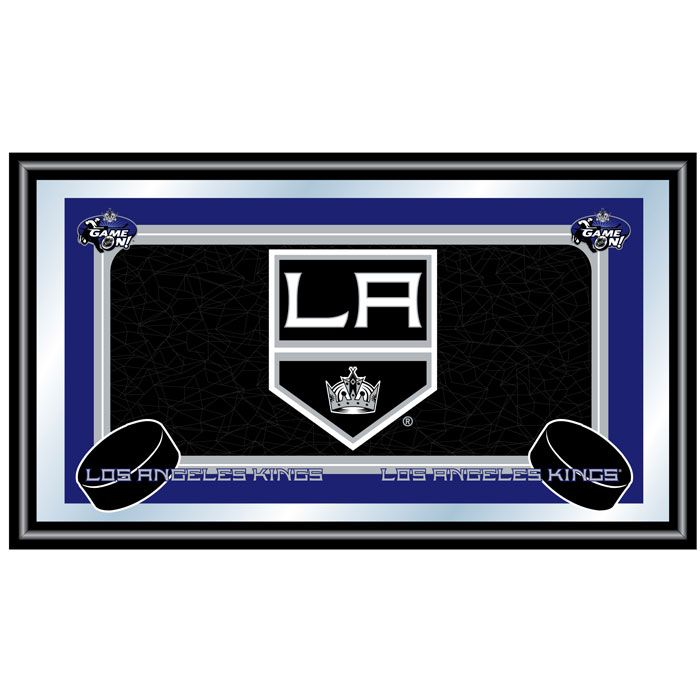NHL Los Angeles Kings Framed Team Logo Mirror