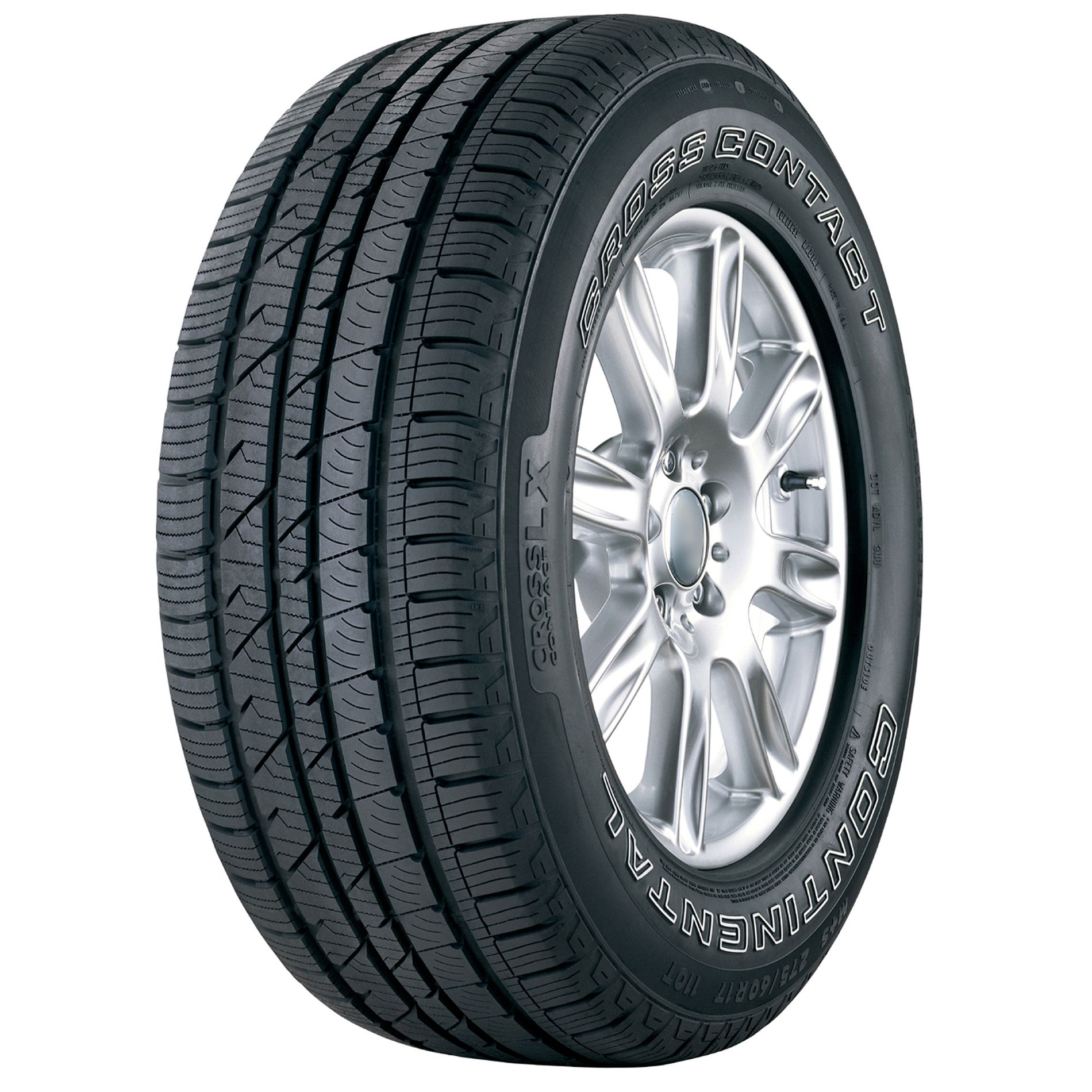 Continental  CrossContact LX Tire - 225/65R17 102T BW