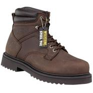 "Wolverine Men's Work Boot 6"" Leather Steel Toe Wide Width- Brown at Sears.com"