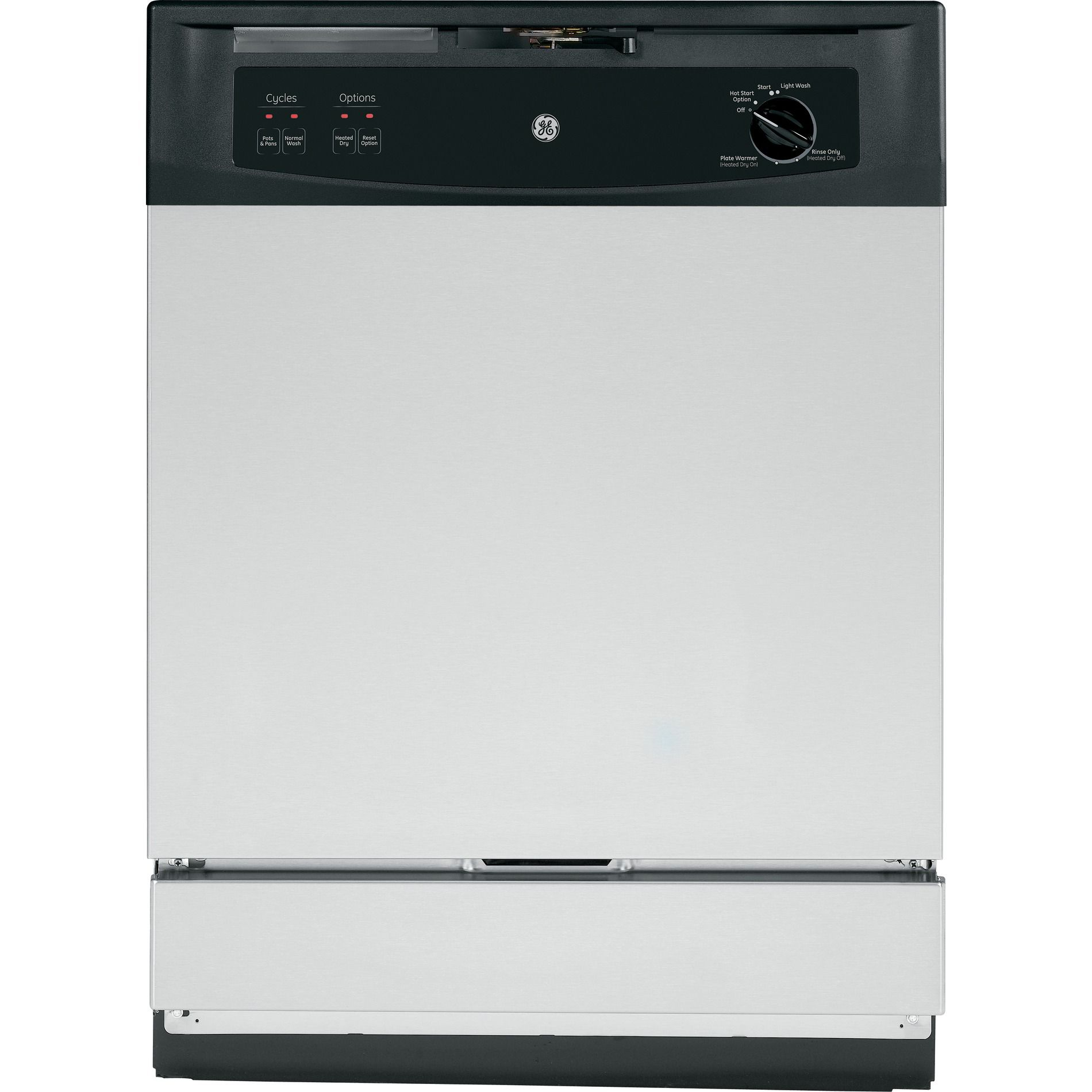 "GE Appliances GSM2260VSS 24"""" Under-the-Sink Built-In Dishwasher"