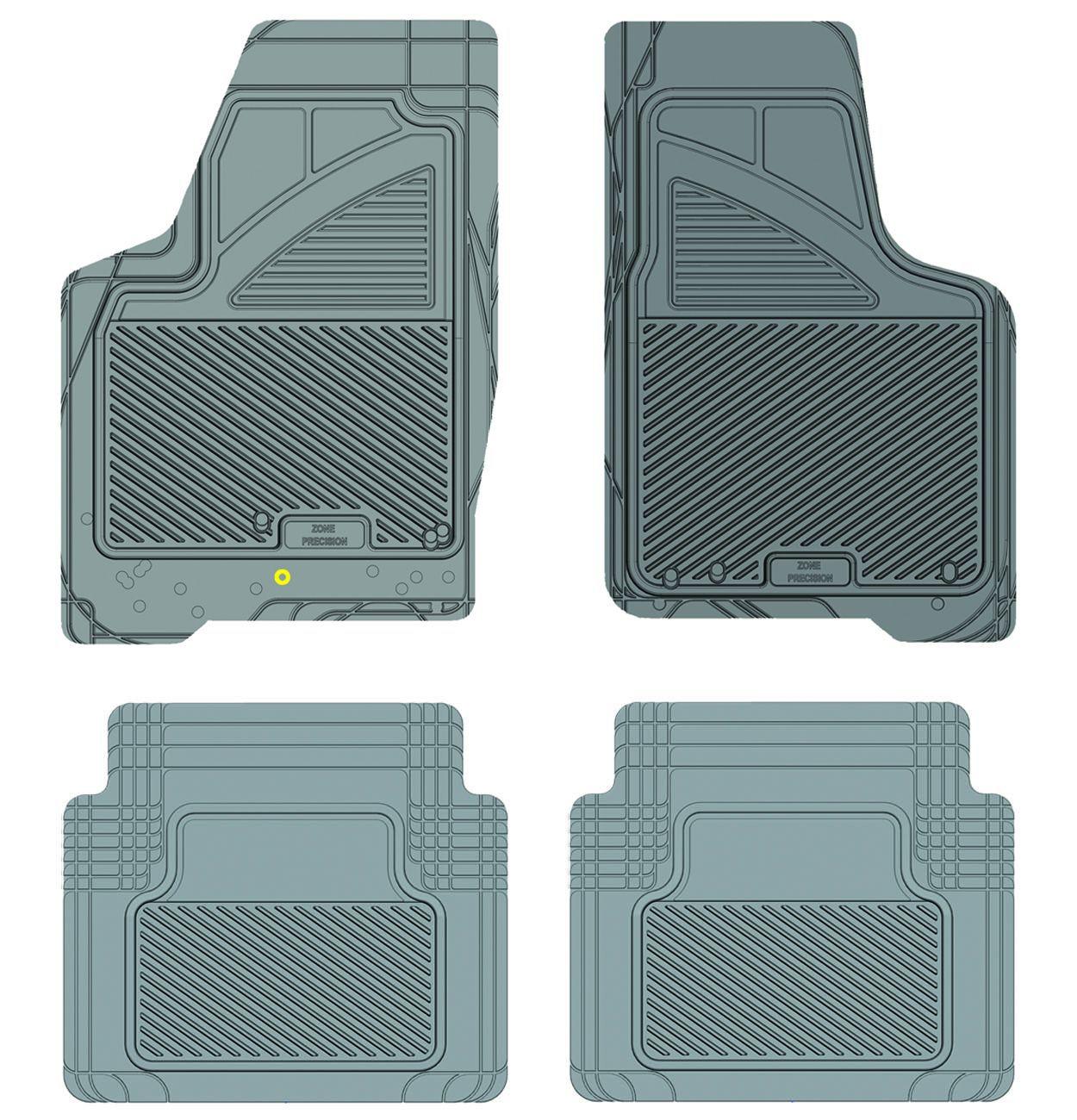Kustom Fit Koolatron 17259 Grey Precision All Weather Kustom Fit Car Mat for 2006+ Chevrolet Impala
