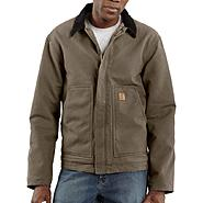 Carhartt Men's Sandstone Dearborn Jacket/Sherpa Lined at Sears.com