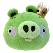 Angry Birds Plush Pig With Sound 5.75IN - King Pig at Kmart.com