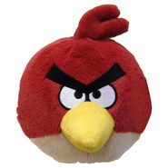 Angry Birds Plush With Sound 8.75IN - Red at Kmart.com