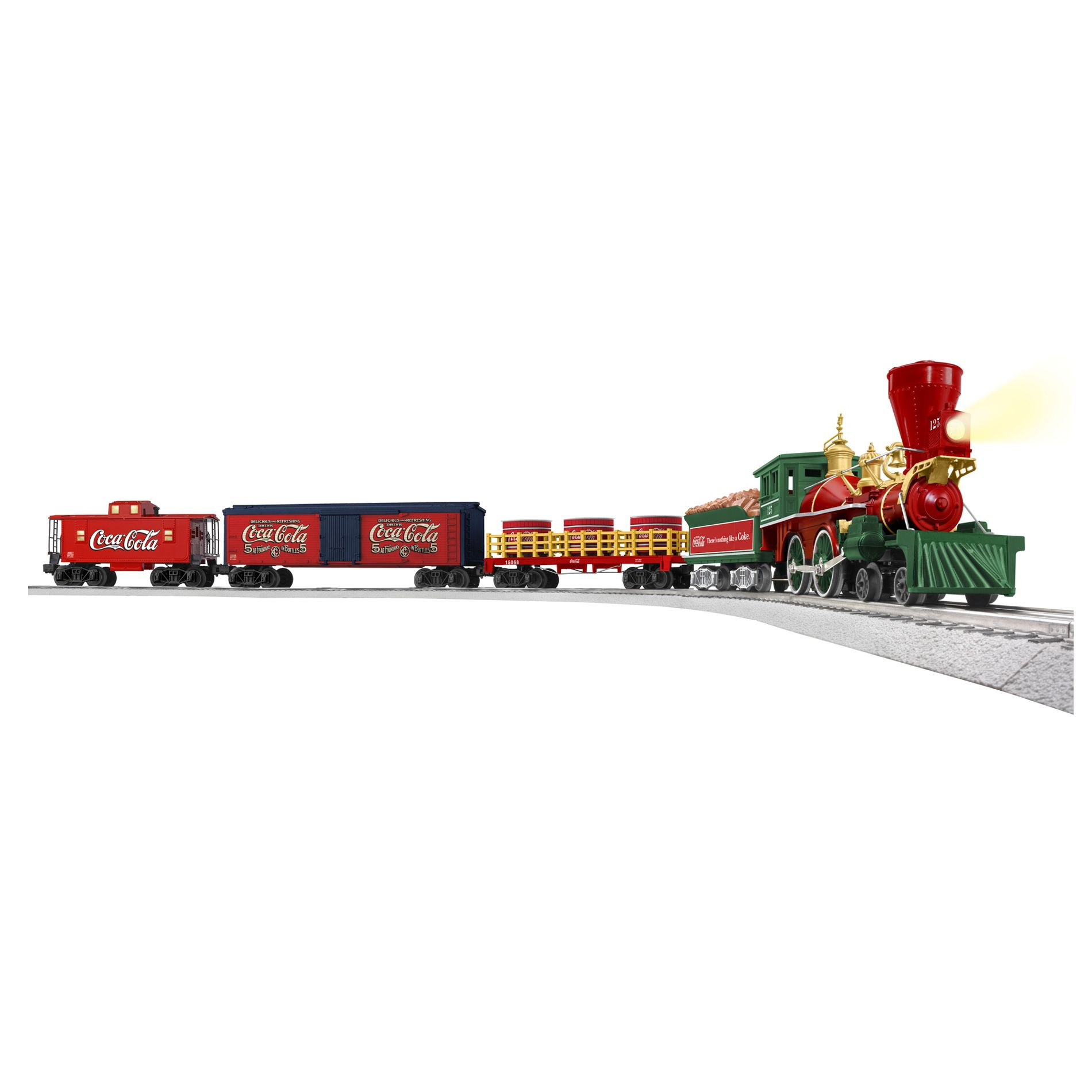 Coca-Cola 125th Anniversary Freight Train Set