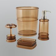 Cannon Brighton Acrylic Chocolate Bath Accessory Collection at Kmart.com