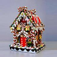 "8 5/8"" Claydough and Metal Candy House with C7 UL Lighted Decorations at Kmart.com"