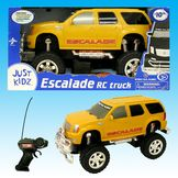 Just Kidz 1:16 RC BIG WHEEL TRUCKS - Yellow Escalade at mygofer.com