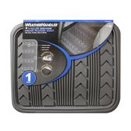 WeatherHandler 1Pc Rear Rubber Floor Mat All Weather Grey at Sears.com