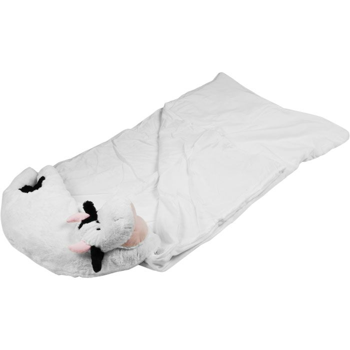 Kids Cow Pet Pillow Sleeping Bag Combo