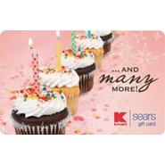 Birthday Cup Cakes Gift Card at Kmart.com