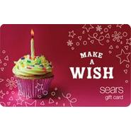 Make a wish Gift Card at Sears.com