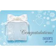 Congratulations Present Gift Card at Kmart.com
