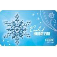 Snowflakes Gift Card at Sears.com