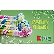 Party Time eGift Card at Kmart.com