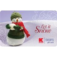 Let It Snow eGift Card at Kmart.com