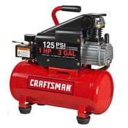 Craftsman 3 Gallon Horizontal Air Compressor with Hose and Accessory Kit at Kmart.com