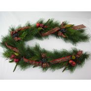 "Botanic 6' x12"" DellaRobbia Longleaf Pine Garland with Ribbons at Kmart.com"
