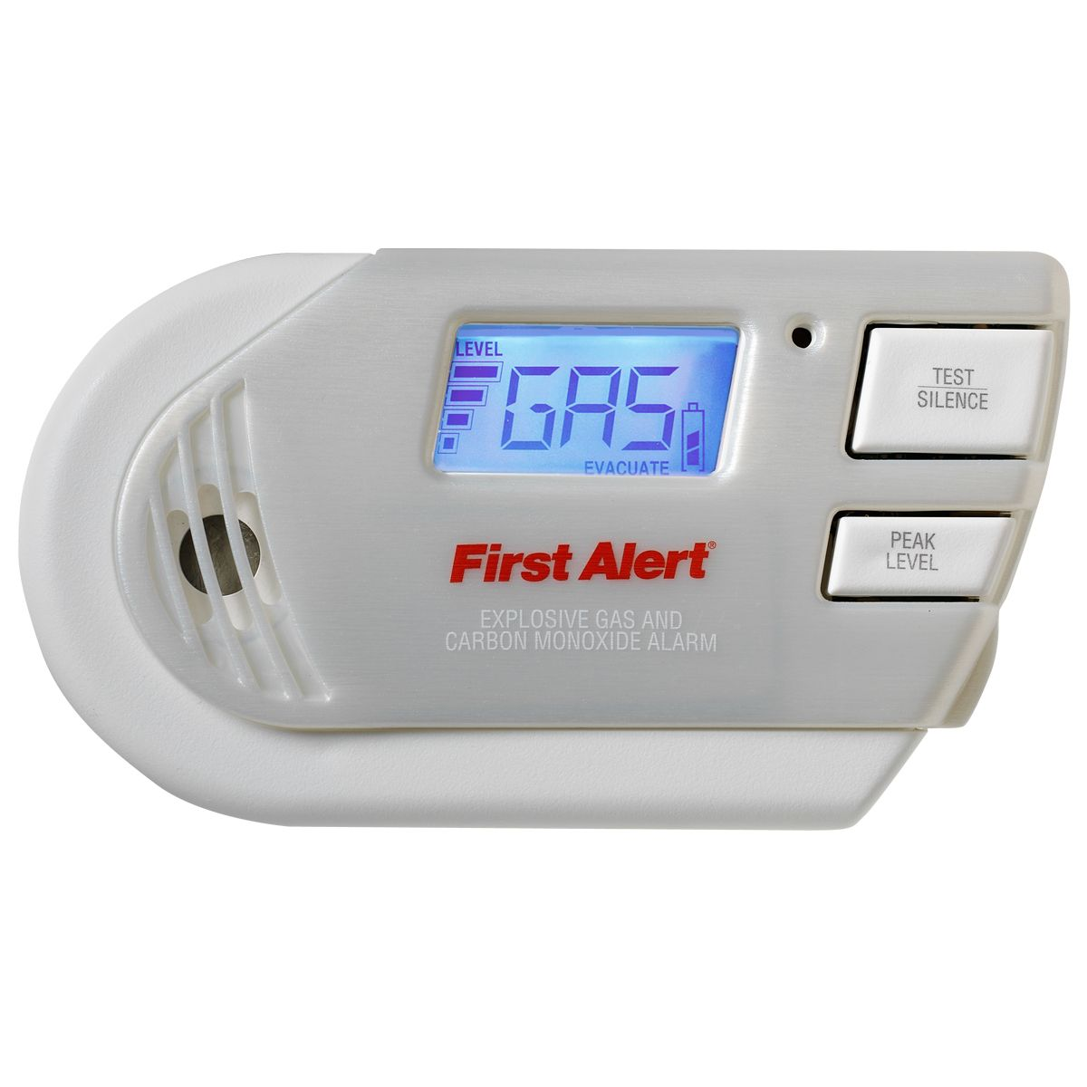 First Alert Carbon Monoxide & Gas Alarm with Remote Controlled Test/Silence Function