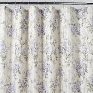 Home Solutions Emily Purple Floral Shower Curtain at Kmart.com