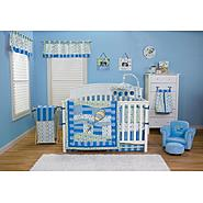 Dr. Seuss' Blue Oh! the Places You'll Go!  Bedding Set & Laundry Hamper Bundle at Sears.com
