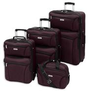 Forecast BARBADOS Collection Merlot 4PC SET at Sears.com