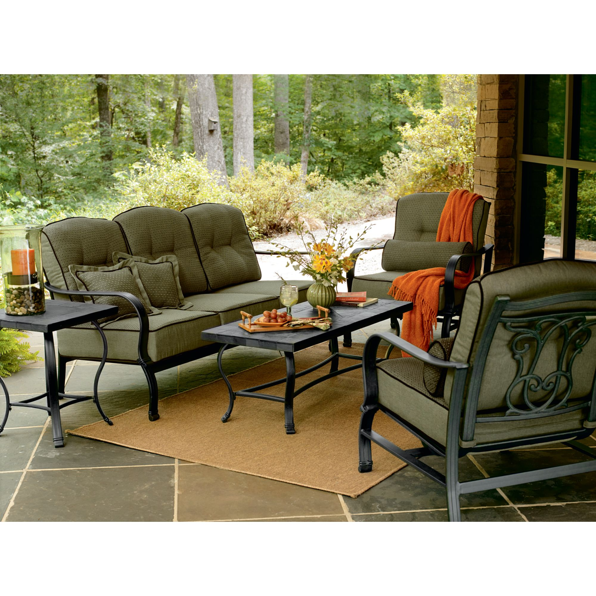 Hadley 5 Pc. Patio Seating Set: Live Outdoors With Cool Ideas At Sears