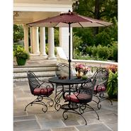 Country Living Stanton 5 Pc. Wrought Iron Dining Set at Kmart.com