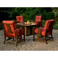 Agio Wessington 5 Pc. Firepit Chat Set at Kmart.com