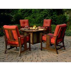 Agio International Wessington 5 Pc. Firepit Chat Set at Kmart.com