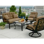 La-Z-Boy Outdoor Caitlyn 4pc Seating Set Bundle       ...