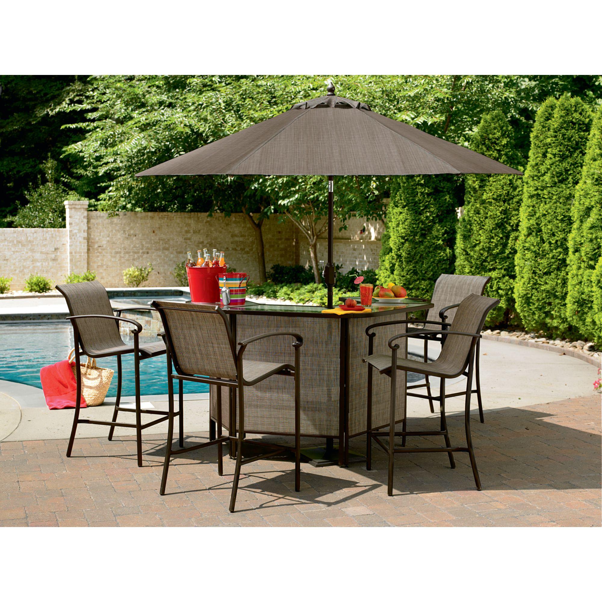 Charming Garden Oasis Garden Oasis East Point 5 Pc. Bar Set