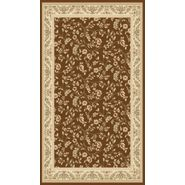 World Rug Gallery ELITE  Brown/Floral 2'x8' Rug at Kmart.com